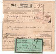 Taxe Douanière D'objets Postaux - Fiscaux
