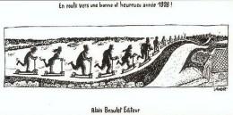 LOLMEDE : Carte Voeux BD Pour BEAULET 1998 - Cartes Postales