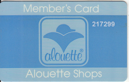 GREECE - Alouette Shops, Member Card, Used - Ohne Zuordnung