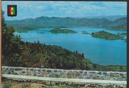 °°° 9156 - RWANDA - LE LAC RUHONDO VU DU FOYER DE CHARITE' DE REMERA - 1986 °°° - Rwanda