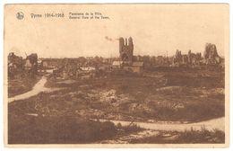 Ieper / Ypres - 1914-1918 - Panorama De La Ville - Oorlogsschade - Puinen - War / Guerre WW1 - Ieper
