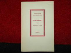 """Joseph Von Eichendorff  """"Die Dichter Der Deutschen"""" (Hermann Gaupp) éditions Cotta De 1946 - Livres, BD, Revues"""
