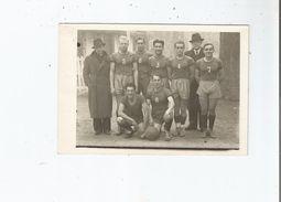 BASKET BALL CARTE PHOTO DE L'EQUIPE DU T U C (TOULOUSE UNIVERSITE CLUB) SAISON 1935 1936 - Basketball
