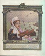 """""""HIGH LIFE TAILOR"""" Sté Bessonnat Et Cie à PARIS - Printemps Eté 1914 - Conte, Gravures De Mode, échantillons De Tisssus - Pubblicitari"""
