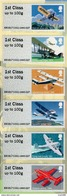 Great Britain - 2017 - Royal Mail Heritage - Mail By Air - ATM Stamp Set In Special Folder - Marcofilie - EMA (Printer)