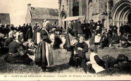 29 - SAINT-JEAN-TROLIMON - Chapelle De Tronoen Un Jour De Pardon - Saint-Jean-Trolimon
