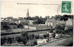 14 BERNIERES-sur-MER - Vue Générale Prise Du Castel - Frankrijk