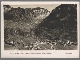 CPSM Andorre - Valls D'Andorra - Les Escaldes - Vista General - Andorre