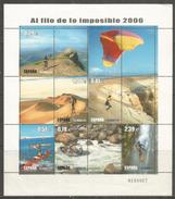 Rafting Sur Le Torrent Bio-Bio Chili,cascade île De La Réunion,etc (Voyages Au Bord De L'impossible) B-F Neuf ** 2006 - Rafting