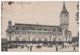 75 . PARIS . LA GARE DE LYON - Réf. N°4732 - - Métro Parisien, Gares