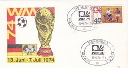 Germany Cover 1974 FIFA World Cup Football - München  (DD8-4) - Coppa Del Mondo