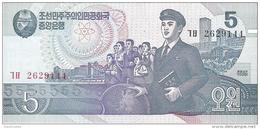 North Korea - Pick 40 - 5 Won 1992 - 1998 - Unc - Corée Du Nord