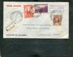 Argentina R Cover 1938 Correspondentia Diplomatica - Lettres & Documents
