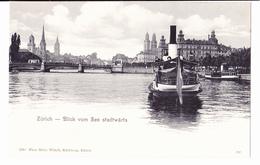 §§§ ZURICH-Blick Vom See Stadtwarts N° 2790 §§§ - ZH Zurich