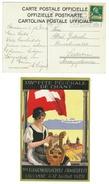Suisse // Schweiz // Switzerland //  1907-1939  // Carte Officielle De La Fête Fédérale De Chant Lausanne 1928 - Suisse