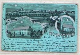 977 Litho Mondschein Gruss A. Weiswampach - *ANSEHEN* - Cartoline