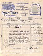 Robert Drèze, Articles En Caoutchouc- Bruxelles, Illustrée, 1915 - Bélgica