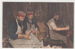 CPA Allemande-Kompagnie -schuster Im Unterstand-TBE-2scans - Oorlog 1914-18