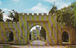 Georgia Milledgeville Entrance To Georgia Military College