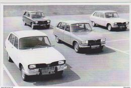 CARTE POSTALE - RENAULT 16 R16 DIFFERENTS MODELES DE 1975 - Format 10X15 CM NEUF - Sonstige
