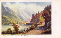 Otirage Gorge - West Coast Road - New Zealand - Nouvelle-Zélande