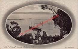 The Pateena Leaving Nelson - New Zealand - Nouvelle-Zélande