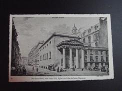 CPA 75 SERIE ANCIEN PARIS 61 - Rue Saint-Denis Sous Louis XVI - Eglise Des Filles De Saint-Chaumont ND PHOTO - Lots, Séries, Collections