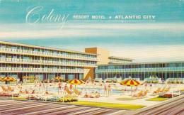 New Jersey Atlantic City The Colony Resort Motel