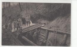 CPA Allemande-Militaires Soldats Allemand Construction Tranchée (PIONIERARBETEN  ).-TBE- - Oorlog 1914-18
