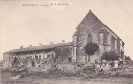 Montbellet -  Chapelle Sainte Catherine (animation, Calèche Chargée De Deux Barriques) Pas Circulé - France