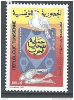 "Tunisie YT 1162 "" Croissant-Rouge "" 1991 Neuf** - Tunisia"