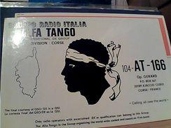 Radio Gruppo Italia Alfa Tango CORSICA V1983 GH17186 - Radio-amateur