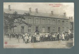CPA (62) Bruay  -  Ecole Carnot - Altri Comuni