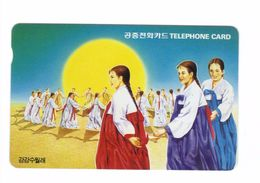 Carta Telefonica Corea -  Ragazze -  Carte Telefoniche@Scheda@Schede@Phonecards@Telecarte@Telefonkarte - Korea, South
