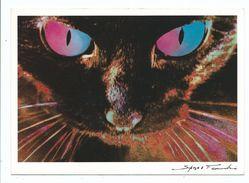CPM Chat Illustrateur SIKORA FENDRI  : HYPNOSE Hypnotic - Ed Cartes D'art Non Voyagée - Katzen
