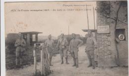 GUERRE DE 1917 LA FRANCE RECOUQUISE EN GARE DE CHIRY OURSCAMPS TBE - Otros Municipios