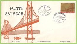 Almada - Lisboa - Envelope Comemorativo - Ponte Salazar - Filatelia - Philately - Portugal