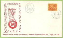 Faro - Envelope Comemorativo - Secção Náutica Do Sport Lisboa E Faro - Posto Náutico Comandante Tenreiro - Vela - Portugal