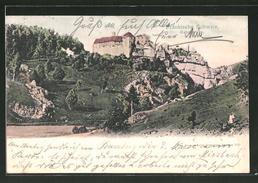 AK Rabenstein, Fränk. Schweiz, Blick Auf Das Schloss - Non Classificati