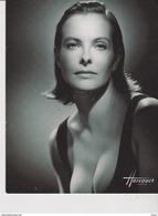 CPM 12X15 . Studio HARCOURT . Cinéma.  Carole BOUQUET  (1995) - Artistes