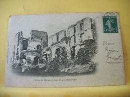 B12 8308 - CPA 1909 - 09 RUINES DU CHATEAU DE LAGARDE, PRES MIREPOIX - Francia