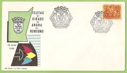 Angra Do Heroísmo - Envelope Comemorativo Das Festas Da Cidade Em 1959 - Ilha Terceira - Açores - Filatelia - Philately - Portugal
