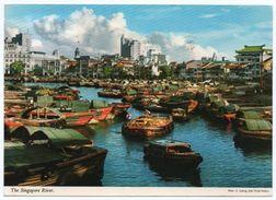 SINGAPORE - THE RIVER (PUB.JOHN HINDE) / THEMATIC STAMPS-MASKS - Singapore
