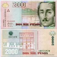 Colombia - 2000 Peso 2014 UNC - Colombie