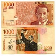 Colombia - 1000 Peso 2015 UNC - Colombie