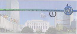 United Nations - Envelope New York - Postal Stationery * * - New York - Hoofdkwartier Van De VN