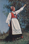 Postcard Norge Norway Hardanger National Costume   My Ref B21996 - Fashion
