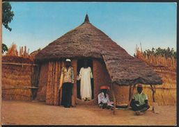 °°° 9209 - NORTHERN NIGERIA - VILLAGE HOUSE - 1983 With Stamps °°° - Nigeria