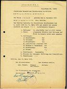 Görlitz 1946 - Entlassungs-Zeugnis - Städtische Gewergbliche Berufsschule - Diplome Und Schulzeugnisse