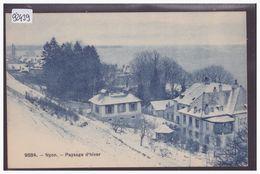 DISTRICT DE NYON - NYON - EN HIVER - TB - VD Vaud